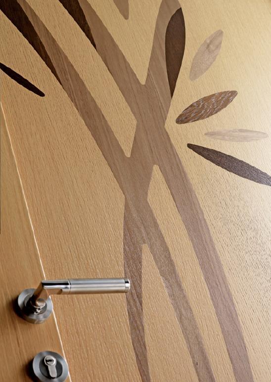 Porte d 39 entr e mixte bois aluminum rambouillet - Porte d entree alu bois ...