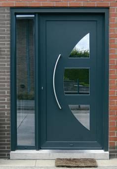 Porte D 39 Entr E Aluminum La Rambolitaine